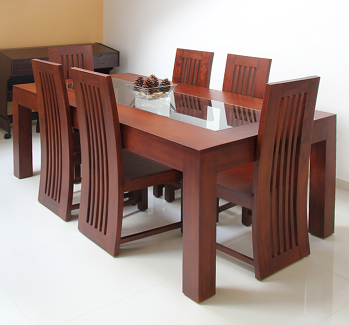 Teak Dining Table Images Christmas Decoration Ideas